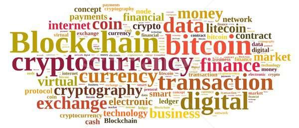 Palavras nuvem ilustração nuvem da palavra palavra dinheiro Foto stock © asturianu