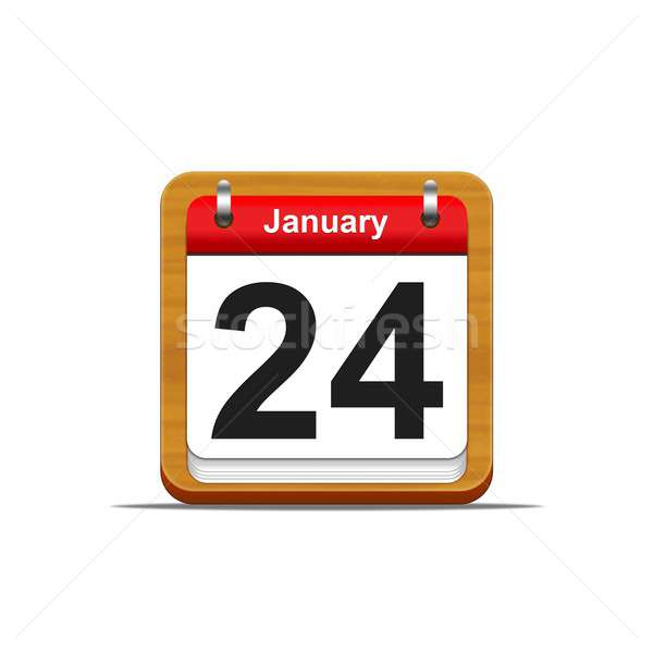 January 24. Stock photo © asturianu