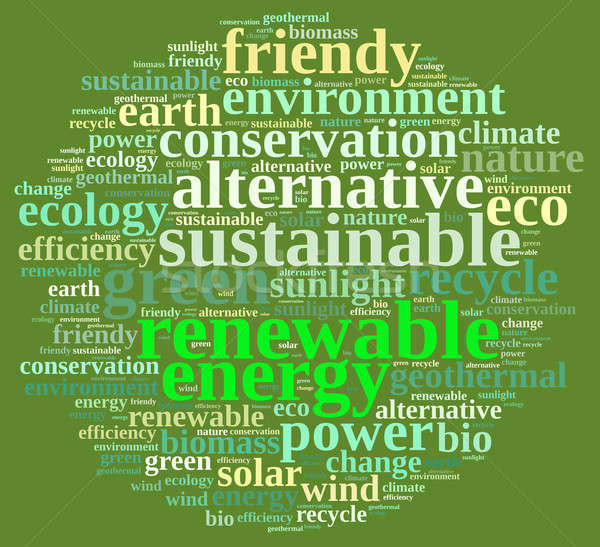 Renewable energy. Stock photo © asturianu