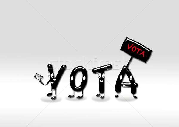 Vote. Stock photo © asturianu