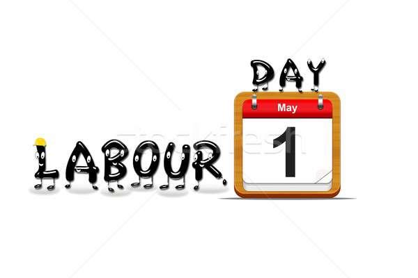 Labour day. Stock photo © asturianu