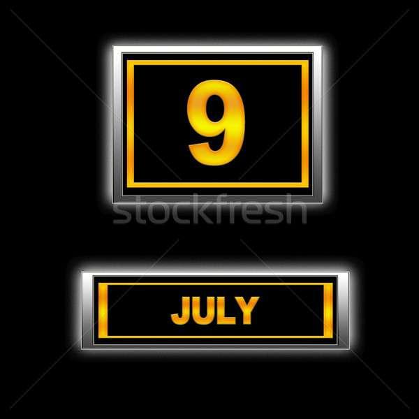 July 9. Stock photo © asturianu