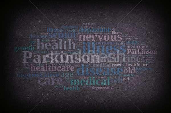 illustration with Parkinson words. Stock photo © asturianu
