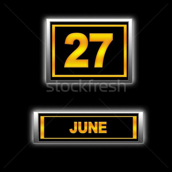 June 27. Stock photo © asturianu