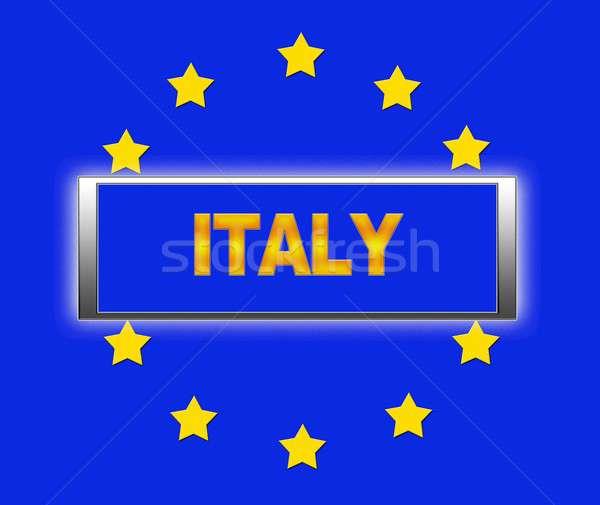 Italy. Stock photo © asturianu