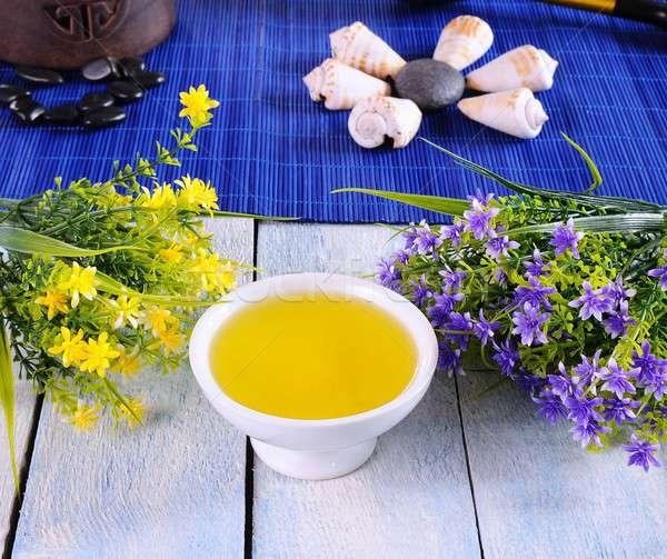 Massage oil. Stock photo © asturianu