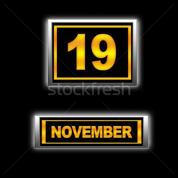 November 19. Stock photo © asturianu