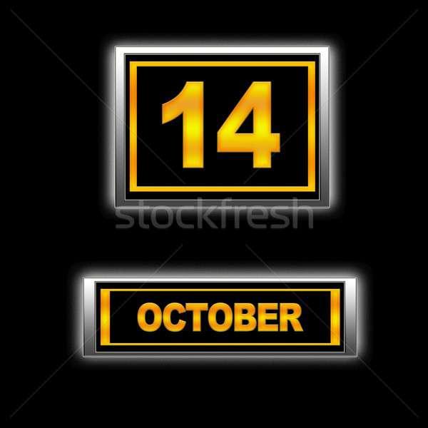 October 14. Stock photo © asturianu