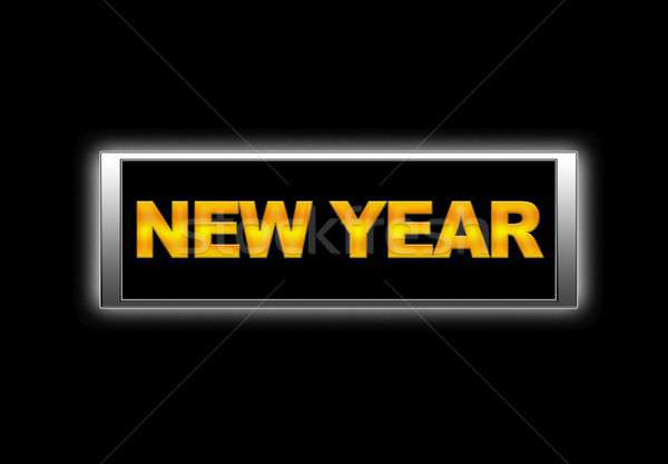 New year. Stock photo © asturianu