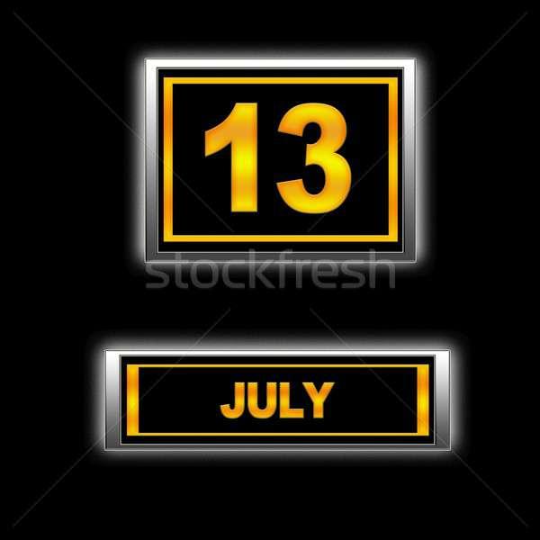 July 13. Stock photo © asturianu