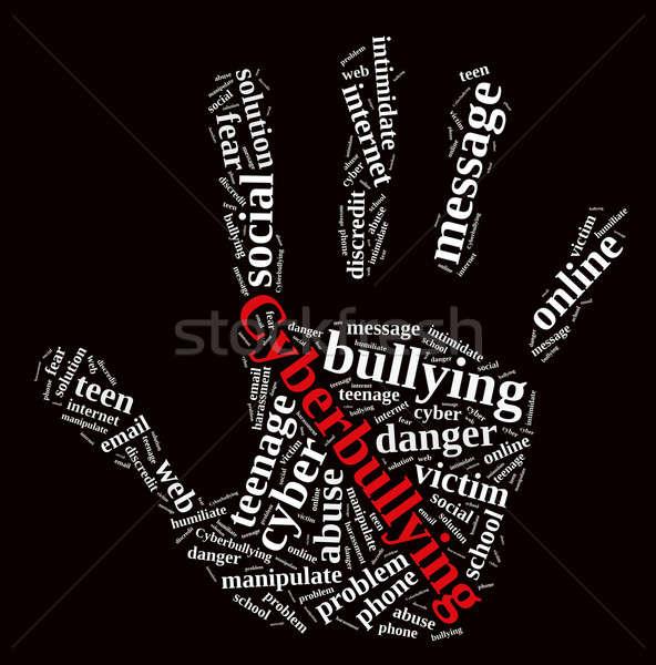 Cyberbullying. Stock photo © asturianu