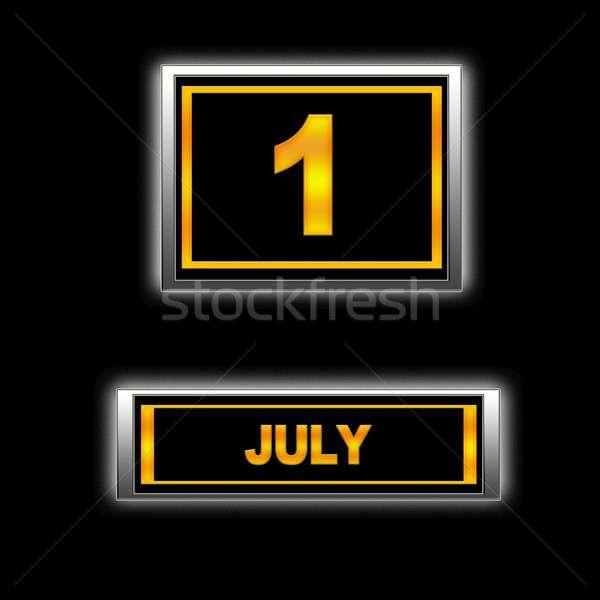 July 1. Stock photo © asturianu