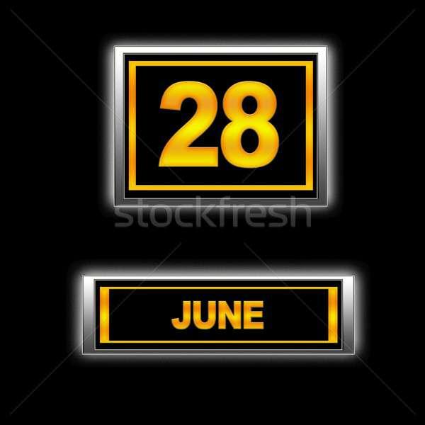 June 28. Stock photo © asturianu