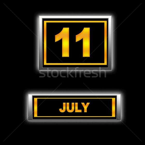 July 11. Stock photo © asturianu
