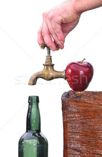 Cider. Stock photo © asturianu