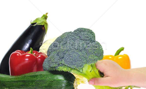 Eat vegetables. Stock photo © asturianu
