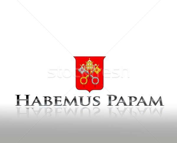 Habemus papam. Stock photo © asturianu