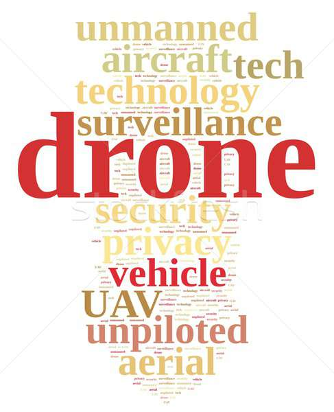 Drone, unmanned aerial vehicle . Stock photo © asturianu