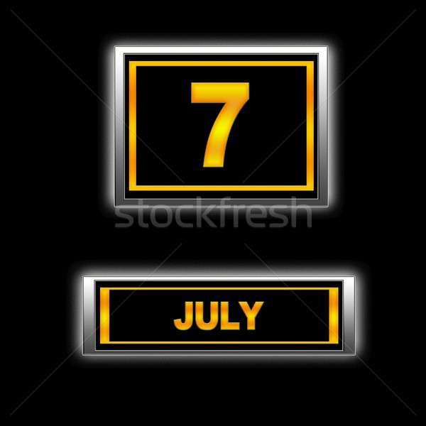 July 7. Stock photo © asturianu
