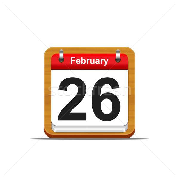 February 26. Stock photo © asturianu