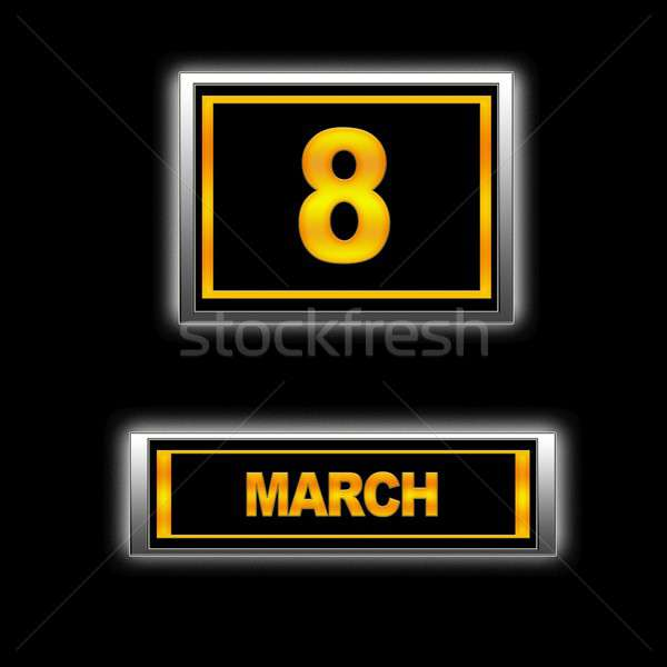 March 8. Stock photo © asturianu