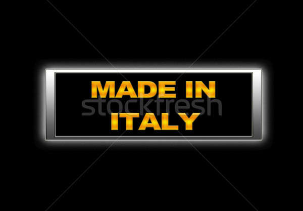Made in Italy. Stock photo © asturianu