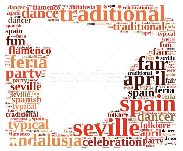 Fair on April in Seville. Stock photo © asturianu