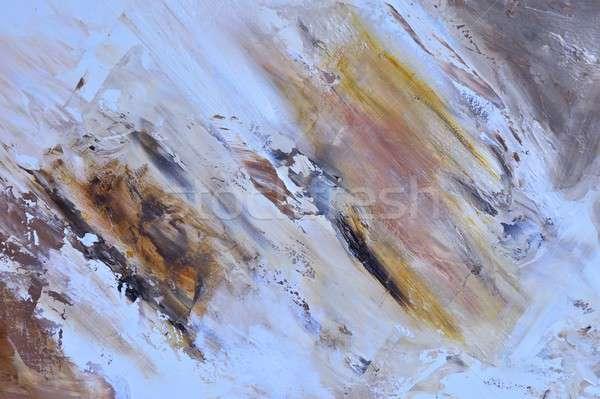 Oil painting. Stock photo © asturianu