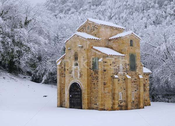 St Miguel of Lillo. Stock photo © asturianu