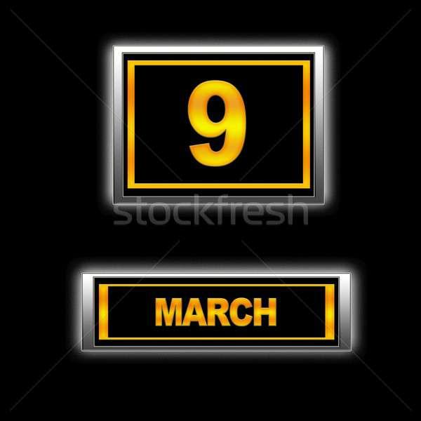 March 9. Stock photo © asturianu