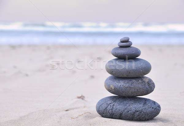Volcanic stones. Stock photo © asturianu