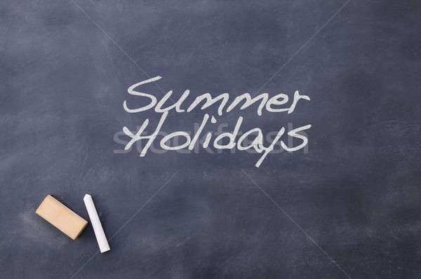 Summer holidays. Stock photo © asturianu