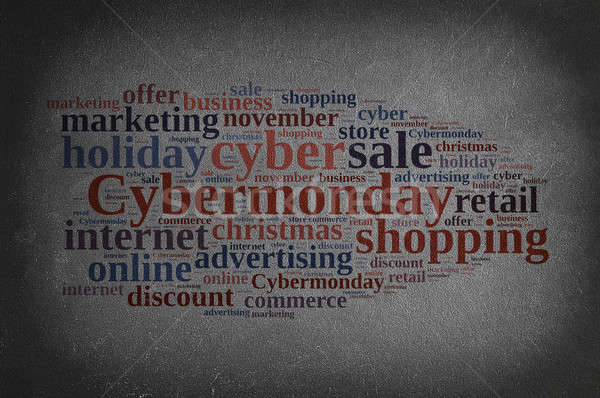 Stock photo: Cyber monday.