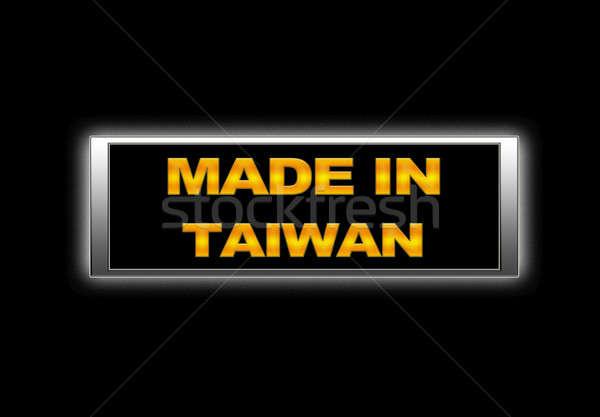 Made in Taiwan. Stock photo © asturianu
