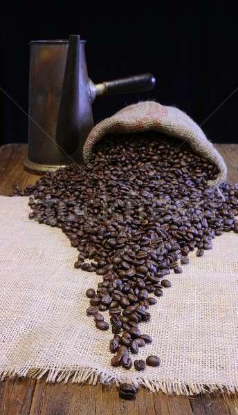 Coffee beans. Stock photo © asturianu