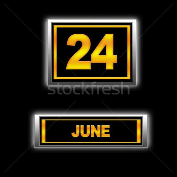 June 24. Stock photo © asturianu