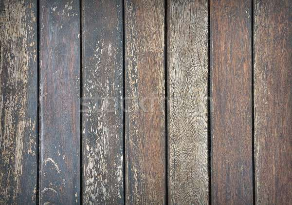 Vertical wooden planks Stock photo © asturianu