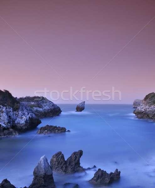 Buelna beach, Asturias, Spain. Stock photo © asturianu
