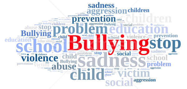 Word cloud relating to Bullying. Stock photo © asturianu