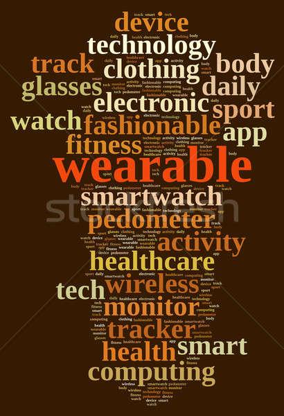 Wearable. Stock photo © asturianu