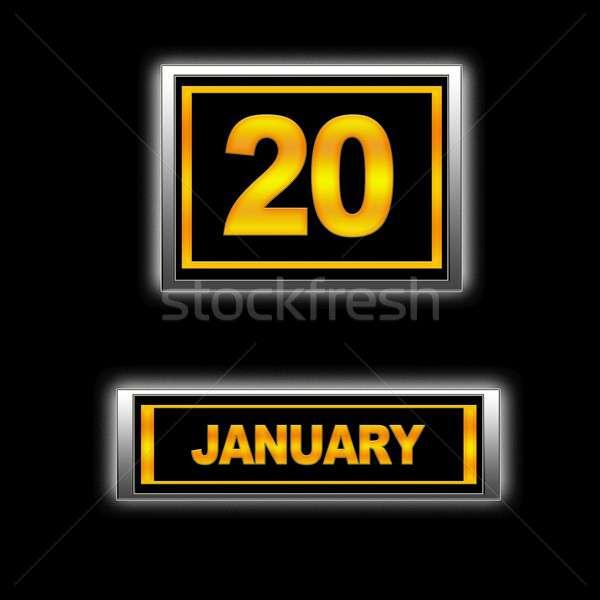 January 20. Stock photo © asturianu