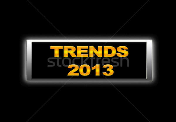 Trends 2013. Stock photo © asturianu