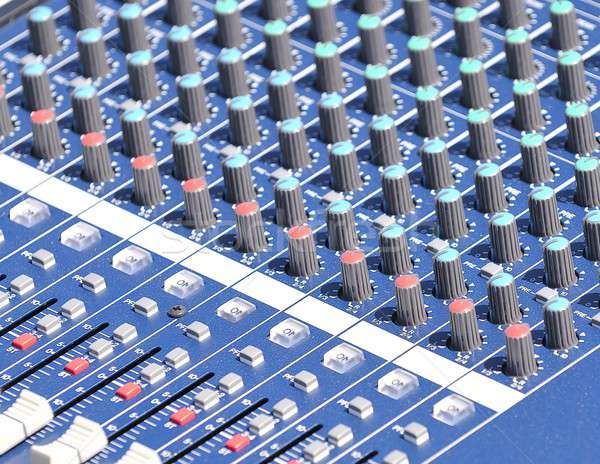 Audio mixer. Stock photo © asturianu
