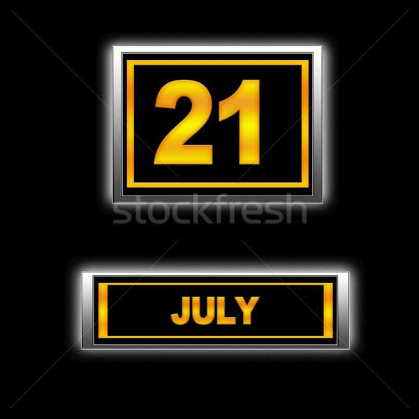 July 21. Stock photo © asturianu