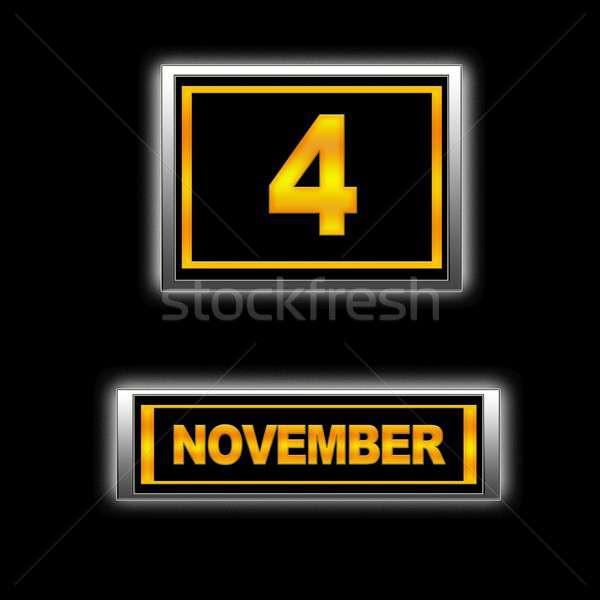 November 4. Stock photo © asturianu