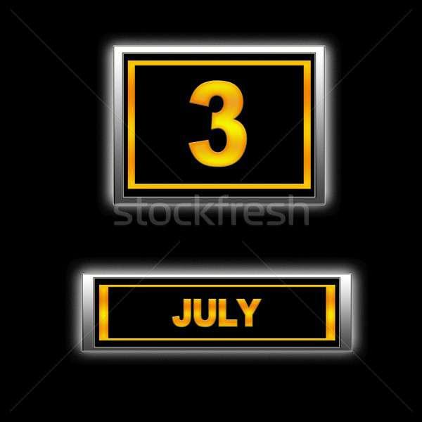 July 3. Stock photo © asturianu