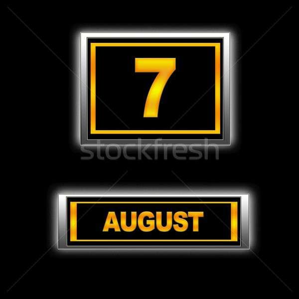 August 7. Stock photo © asturianu