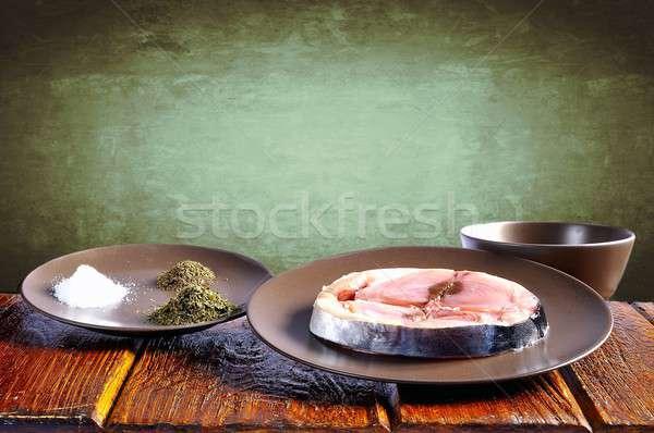 Cantabrian white tuna. Stock photo © asturianu