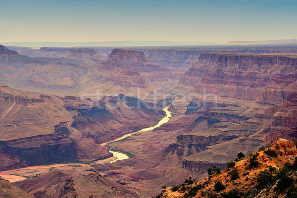 South Rim Grand Canyon, Arizona, US. Stock photo © asturianu