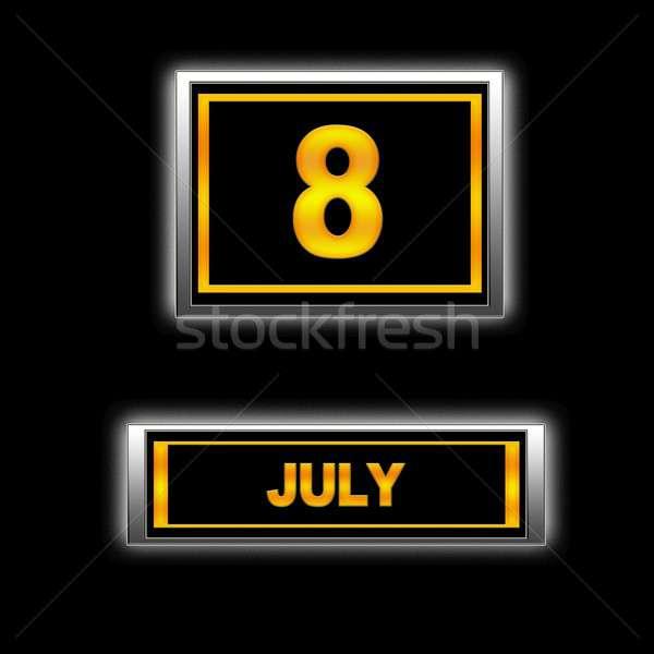 July 8. Stock photo © asturianu